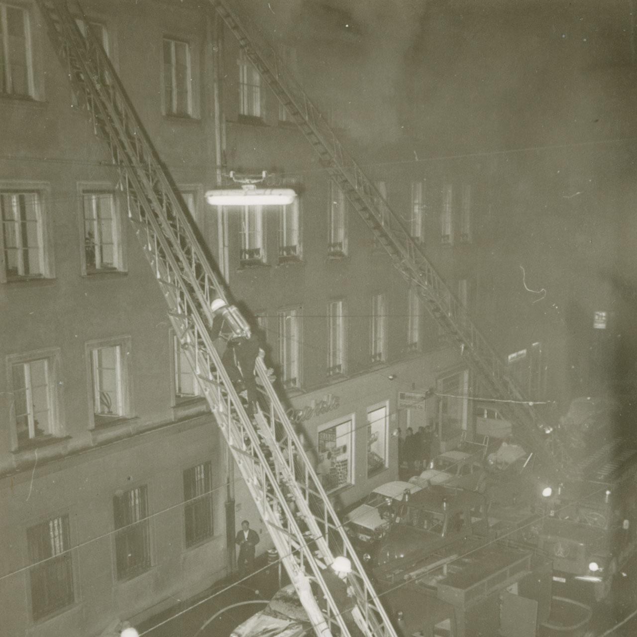 Archivfoto der Feuerwehr München